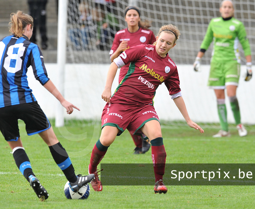 Club Brugge Dames - Dames Zulte Waregem : Catherine Szynal.foto DAVID CATRY / Vrouwenteam.be