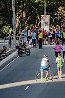 SÃO PAULO,  SP, 31.12.2018 - SÃO-SILVESTRE - Maratonistas durante a Corrida Internacional de São Silvestre na Avenida Paulista em São Paulo nesta segunda-feira, 31. ((Foto: Bruna Grassi/Brazil Photo Press)
