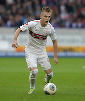 Fussball  1. Bundesliga  Saison 2013/2014  8. Spieltag VfB Stuttgart - SV Werder Bremen     05.10.2013 Alexandru Maxim (VfB Stuttgart) am Ball
