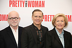 Jim Vallance, Bryan Adams and Barbara Marshall attends the photo call for the New Broadway Bound Musical 'Pretty Woman' on January 22, 2018 at the New 42nd Street Studios in New York City.