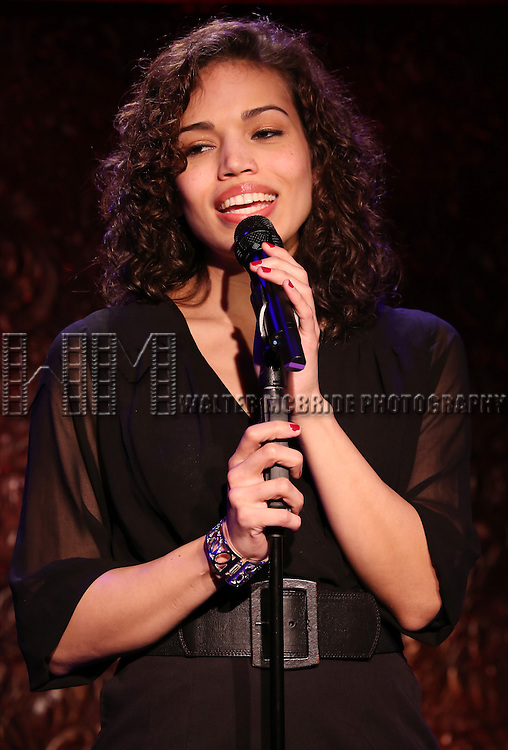 "Ciara Renee performs A Special Press Preview of their upcoming show ""The Wild Party Swings""  at 54 Below on April 4, 2014 in New York City."