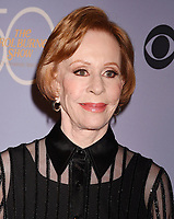 LOS ANGELES, CA - OCTOBER 04: Comedian-actress-singer-writer Carol Burnett attends the CBS' 'The Carol Burnett Show 50th Anniversary Special' at CBS Televison City on October 4, 2017 in Los Angeles, California.<br /> CAP/ROT/TM<br /> &copy;TM/ROT/Capital Pictures