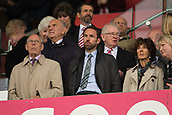30th September, bet365 Stadium, Stoke-on-Trent, England; EPL Premier League football, Stoke City versus Southampton; A glum looking England Manager  Gareth Southgate watches the match