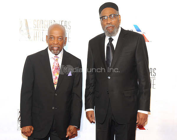 NEW YORK, NY - JUNE 09:  Leon Huff and Kenny Gamble attends the 47th Annual Songwriters Hall Of Fame Induction And Awards Gala at The New York Marriott Marquis on June 9, 2016 in New York City.  Photo Credit:John Palmer/ Media Punch