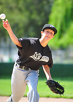 The PNLL Major Marlins action at the Sports Park in Pleasanton Saturday May 7, 2011. (Photo by Alan Greth/AGP Photography).