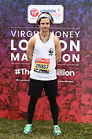 Cel Spellman<br /> at the start of the London Marathon 2019, Greenwich, London<br /> <br /> ©Ash Knotek  D3496  28/04/2019
