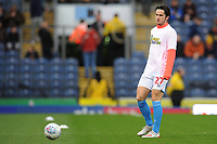 Blackburn Rovers' Lewis Travis during the pre-match warm-up <br /> <br /> Photographer Kevin Barnes/CameraSport<br /> <br /> The EFL Sky Bet Championship - Blackburn Rovers v Preston North End - Saturday 11th January 2020 - Ewood Park - Blackburn<br /> <br /> World Copyright © 2020 CameraSport. All rights reserved. 43 Linden Ave. Countesthorpe. Leicester. England. LE8 5PG - Tel: +44 (0) 116 277 4147 - admin@camerasport.com - www.camerasport.com