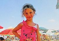 Un arresto per  omicidio della piccola Fortuna Loffredo, la bimba di soli sei anni morta dopo essere precipitata   il 24 giugno 2014 nel parco Verde di Caivano alla periferia. <br /> nella foto la piccola vittima