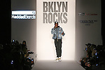 Rapper Fabolous speaks before the BKLYN ROCKS fashion show at 445 Albee Square in Downtown Brooklyn, on November 09, 2016.