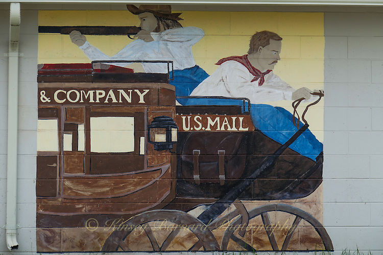 Montana graffiti at the Ronan Post Office