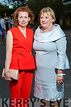 Carmel O'Keeffe (Tralee) and Nora O'Mahony attending the Fashion Show on Sunday night.