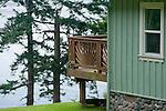 Island cottage; Orcas Island, WA