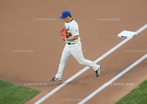 Daisuke Matsuzaka (Mets),<br /> AUGUST 23, 2013 - MLB :<br /> Pitcher Daisuke Matsuzaka of the New York Mets during the Major League Baseball game against the Detroit Tigers at Citi Field in Flushing, New York, United States. (Photo by AFLO)