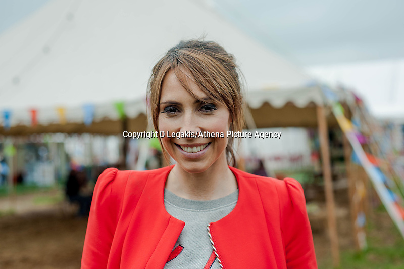 Friday 30 May 2014, Hay on Wye, UK<br /> Pictured: Alex Jones<br /> Re: The Hay Festival, Hay on Wye, Powys, Wales UK.