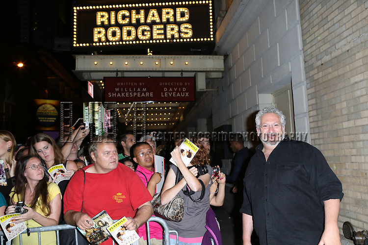 "Harvey Fierstein at the stage door after the First Performance of ""Romeo And Juliet"" On Broadway at the Richard Rodgers Theatre in New York City on 8/24/2013"