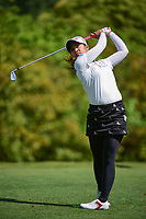 Pornanong Phatlum (THA) watches her tee shot on 11 during round 1 of  the Volunteers of America Texas Shootout Presented by JTBC, at the Las Colinas Country Club in Irving, Texas, USA. 4/27/2017.<br /> Picture: Golffile | Ken Murray<br /> <br /> <br /> All photo usage must carry mandatory copyright credit (&copy; Golffile | Ken Murray)