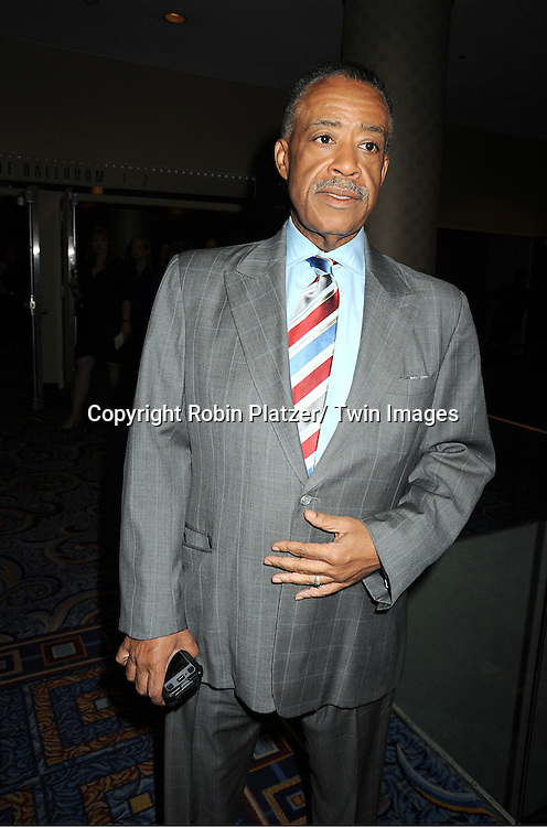 Reverand Al Sharpton attending The Rosie's Theatre Kids Gala on September 19, 2011 at The New York Marriott Marquis Hotel in New York City.