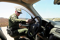 Arizona Border Patrol - U.S.-Mexico Border - Nogales, Arizona
