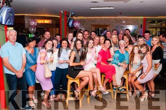 21st Birthday: Taragh Kelly, Derry, Listowel celebrating her 21st birthday with family & friends at Christy's Bar, Listowel on Saturday night last.