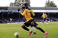 Miles Mitchell-Nelson of Southend United and Jayden Mitchell-Lawson of Bristol Rovers during Southend United vs Bristol Rovers, Sky Bet EFL League 1 Football at Roots Hall on 7th March 2020