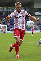 Matthew Godden of Stevenage during Colchester United vs Stevenage, Sky Bet EFL League 2 Football at the Weston Homes Community Stadium on 12th August 2017