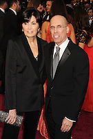 WWW.BLUESTAR-IMAGES.COM   Dreamworks Chief Executive Officer and Director Jeffrey Katzenberg (R) and Marilyn Katzenberg attend the 86th Annual Academy Awards held at Hollywood &amp; Highland Center on March 2, 2014 in Hollywood, California.<br /> Photo: BlueStar Images/OIC jbm1005  +44 (0)208 445 8588