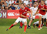August 13, 2011:  Canada's Sean White makes a pass during the pre World Cup test match between Canada and USA's national teams at Infinity Park, Glendale, Colorado.  Canada defeated USA 27-7.     .. ...