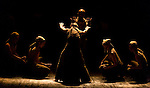 "English National Ballet. ""Lest We Forget"" programme. ""Dust"". Direction and choreography by Akram Khan."