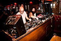 Moby & Gaslamp Killer Dj Mfg & Obey Giant Present Dance Right 10 Year Reunion on July 21, 2016 (Photo by Flavio Gonzalez/Guest Of A Guest)