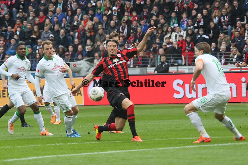Chance fuer Alex Meier (Eintracht) - Eintracht Frankfurt vs. SV Werder Bremen