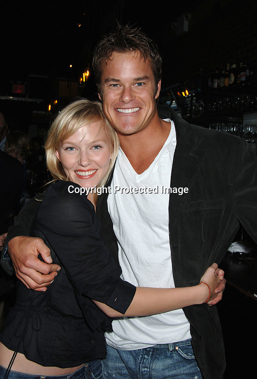 Kelli Giddish and Alec Musser..at a POZ Magazine event for the Aids Walk ..on May 17, 2006 at Prohibition. ..Robin Platzer, Twin Images
