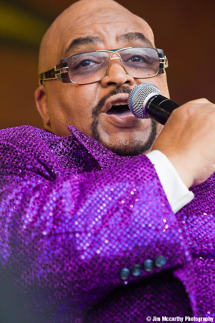 Solomon Burke at Jazz Fest 2009