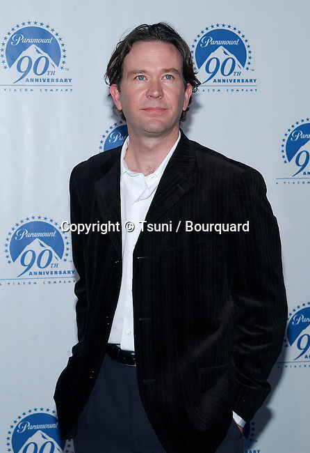 "Timothy Hutton arriving at Paramount Pictures for ""90 Stars for 90 years"" on the Paramount lot in Los Angeles. July 14, 2002.            -            HuttonTimothy01.jpg"