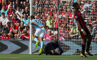 \m33 scores a goal 1 1 during the Premier League match between Bournemouth and Manchester City at the Goldsands Stadium, Bournemouth, England on 26 August 2017. Photo by Andy Rowland.