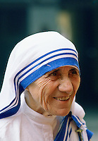 Mother Teresa of Calcutta, India.