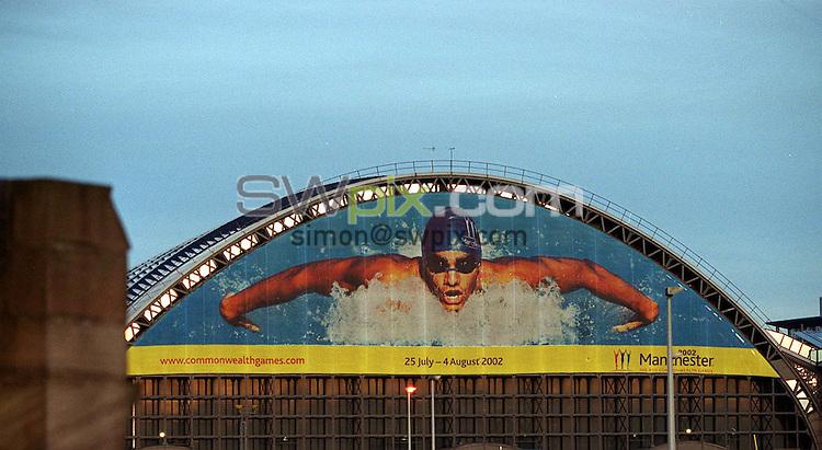 Pix: Matthew Lewis/SWpix.com. Commonwealth games. Manchester Aquatics centre. 10/12/2001...COPYWRIGHT PICTURE>>SIMON WILKINSON>>01943 436649>>..Manchester's GMEx Arena..