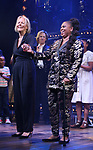 """Phyllida Lloyd and Katori Hall during the """"Tina - The Tina Turner Musical"""" Opening Night Curtain Call at the Lunt-Fontanne Theatre on November 07, 2019 in New York City."""