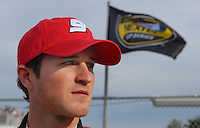 Feb 11, 2007; Daytona, FL, USA; Nascar Nextel Cup driver Kasey Kahne (9) during qualifying for the Daytona 500 at Daytona International Speedway. Mandatory Credit: Mark J. Rebilas