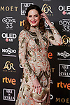 Cuca Escribano attends to 33rd Goya Awards at Fibes - Conference and Exhibition  in Seville, Spain. February 02, 2019. (ALTERPHOTOS/A. Perez Meca)