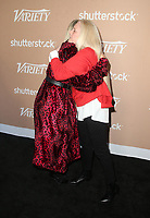 LOS ANGELES, CA - DECEMBER 1: Bebe Rexha, Barbara Cane, at Variety's 2nd Annual Hitmakers Brunch at Sunset Tower in Los Angeles, California on December 1, 2018.     <br /> CAP/MPI/FS<br /> &copy;FS/MPI/Capital Pictures
