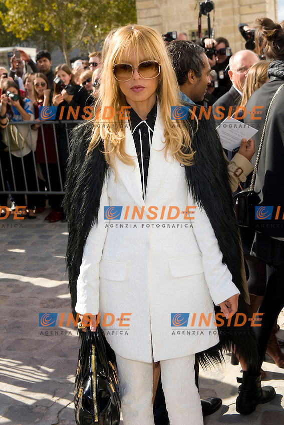 Rachel Zoe .Parigi 28/9/2012 .Fashion Week. Dior. Arrivi.Foto JB Autissier / Panoramic / Insidefoto.ITALY ONLY