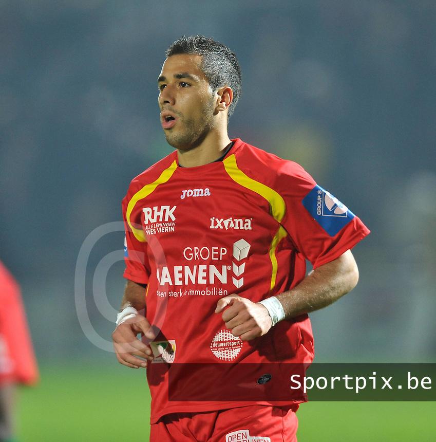 KV Oostende : Achraf Essikal.foto VDB / BART VANDENBROUCKE