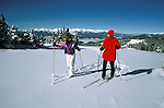 Colorado: Cross Country Skiing, Keystone, model released, Photo: cocros101   .Photo Copyright: Lee Foster, (510) 549-2202, lee@fostertravel.com, www.fostertravel.com