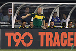 10 AUG 2010: Brazil head coach Mano Menezes (BRA). The United States Men's National Team lost to the Brazil Men's National Team 0-2 at New Meadowlands Stadium in East Rutherford, New Jersey in an international friendly soccer match.