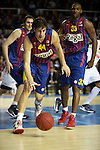 Lorbek, Tomic & Mickael. FC Barcelona Regal vs Fenerbahce Ulker: 100-78 - Top 16 - Game 1.
