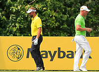 Joost Luiten (NED) and Shaun Norris (RSA) on the 8th tee during Round 2 of the Maybank Championship at the Saujana Golf and Country Club in Kuala Lumpur on Friday 2nd February 2018.<br /> Picture:  Thos Caffrey / www.golffile.ie<br /> <br /> All photo usage must carry mandatory copyright credit (&copy; Golffile | Thos Caffrey)
