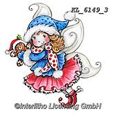 CHRISTMAS CHILDREN, WEIHNACHTEN KINDER, NAVIDAD NIÑOS, paintings+++++,KL6149/3,#xk#