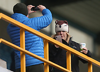 Bolton fans<br /> <br /> Photographer Rob Newell/CameraSport<br /> <br /> The EFL Sky Bet Championship - Millwall v Bolton Wanderers - Saturday 24th November 2018 - The Den - London<br /> <br /> World Copyright © 2018 CameraSport. All rights reserved. 43 Linden Ave. Countesthorpe. Leicester. England. LE8 5PG - Tel: +44 (0) 116 277 4147 - admin@camerasport.com - www.camerasport.com