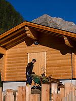 Hochimst Zoo Obermarkter Alm, Imst, Tirol, &Ouml;sterreich, Europa<br /> Zoo Obermarkter Alm at Hochimst, Imst, Tyrol, Austria, Europe