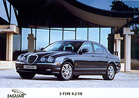 Hand out photo of the 2002 Jaguar S Type 4.2 v8<br />